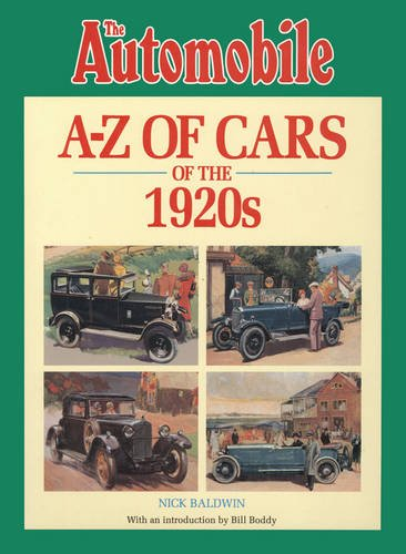 The Automobile Magazine's A-Z of Cars of the 1920s (Baldwin Magazin)