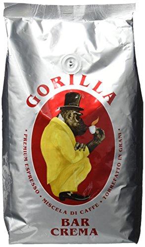 Joerges Espresso Gorilla Bar Crema, 1er Pack (1 x 1 kg)