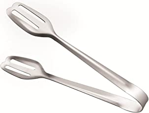 HomeScapes Food Grade Stainless Steel Multipurpose Tong - 19 cm