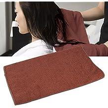 Toalla seca para el cabello, toalla seca súper absorbente Secadora del cabello Paño suave espesado