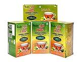 #7: All in One Herbal Lemon Green Tea Sugar -Less Pack of 4, 100 Tea Bag