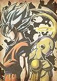 "Poster Dragon Ball ""Wanted"" Goku & Freezer - A3 (42x30 cm)"