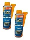 INOX Benzin Power Additiv, 2 x 250ml - Benzinsystemreiniger-Zusatz für alle Normal- und...