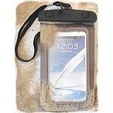 """PRESKIN - Wasserfeste Tasche bis 5.7 Zoll Display, Wasserdichte Smartphone Schutzhülle / Handy Hülle (Beachbag5.7""""Grey) mit Touchscreen Funktion wie Schutzfolie / Displayfolie, Waterproof / water resistant mobile bag / pouch / case für Samsung Galaxy S5, S4, S3, Note 3, S4 mini, S3 mini, Motorola Moto G, Moto X, Sony, Nokia XL, X, Lumia 1020, 1520, 1320, LG L90, L70, GD 955 G Flex, G2 mini, Huawei Ascend G6, Y300, P7 mini, Y530, Doro Liberto 810, Apple iPhone 5S, 5C, 5, 4S, 4, HTC One, One mini, für Apple iPhone 6, IPX8 zertifiziert"""