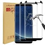 kleexs [2 Pack] Galaxy S8 Screen Protector, Samsung Galaxy S8 Tempered Glass 0.25mm Screen Protector, 9H Hardness, Bubble Free, Anti-Fingerprint HD Screen Protector Film