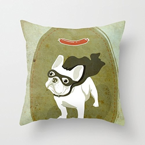 Beautifulseason Dogs Pillow Cases 16 X 16 Inches / 40 By 40 Cm Best Choice For Home Office,monther,home,father,teens,outdoor With Twice Sides