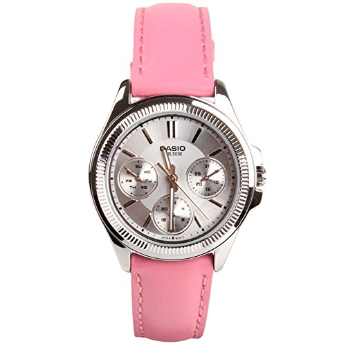 Casio Enticer Analog White Dial Women's Watch - LTP-2088L-4AVDF (A938) image