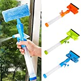 kelaTSI Shower Squeegee Window Car Glass Mirror Cleaner Wiper Scraper Brush Clean Tools
