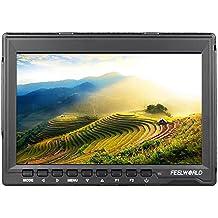 Andoer Feelworld FW759 7 '' HD 1280 * 800 LCD IPS Monitor HDMI de Cámara Video para Canon Nikon Sony DSLR Cámara Videocámara