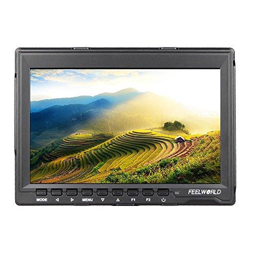 Feelworld FW759 Videokamera 7 '' HD IPS LCD Monitor 1280 * 800 HDMI für Canon Nikon Sony DSLR Kamera-Camcorder Canon-camcorder-paket
