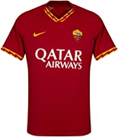 AS Roma Camiseta Equipación Casa Match Vapor 2019/2020, Nike Short Sleeve Top, Hombre