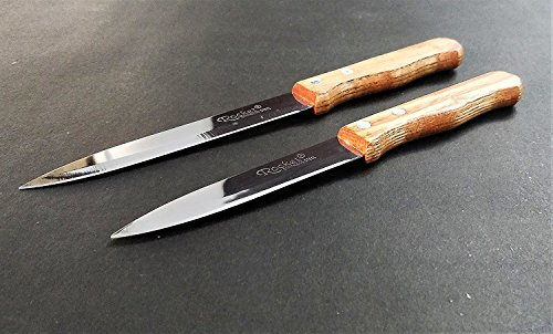 Multi-Purpose-Wooden-Handle-Knife-Pack-of-3-Rocket-German-Stainless-Steel-Rugged-Material-for-Kitchen-Office-Stationery-EZ362