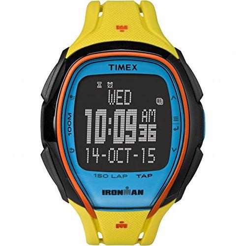 Timex Montre Bracelet Mixte Chronographe Quartz Plastique tw5m00800