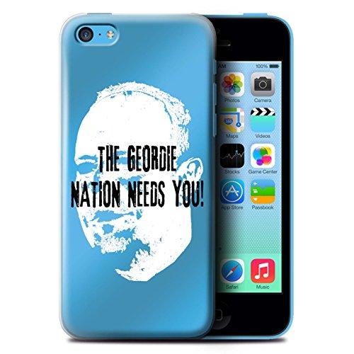Officiel Newcastle United FC Coque / Etui pour Apple iPhone 5C / Pack 8pcs Design / NUFC Rafa Benítez Collection Nation Geordie