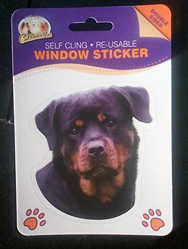 rottweiler window sticker