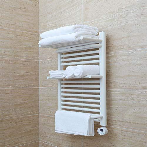 LLCC Scaldasalviette Elettrico Parete Acciaio Inossidabile di Moda Porta Accessori per Bagno portasciugamani riscaldato Adatto per Famiglie Hotel e