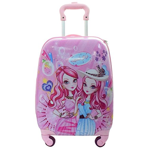 Texas Polycarbonate 1700 Cms Pink Softsided Children's Luggage