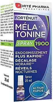 Mélatonine 1900 Spray | Complément Alimentaire Sommeil - Endormissement Rapide | Flacon 20ml