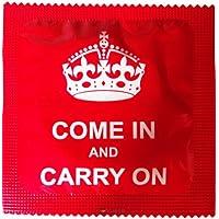 I Luv LTD Kommen Sie herein und mach Neuheit Condom 3er Pack preisvergleich bei billige-tabletten.eu