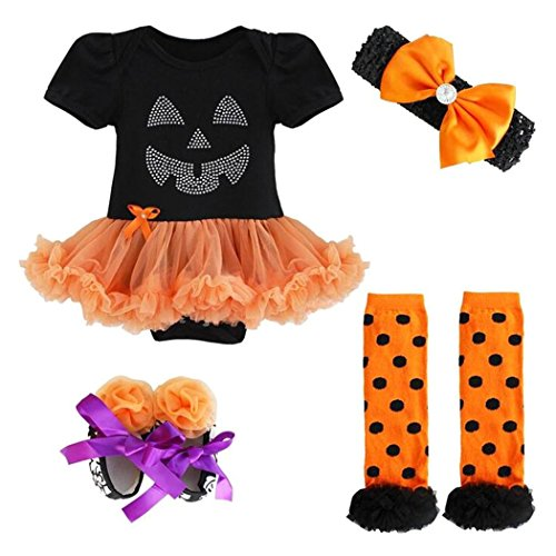 Baby Mädchen Kostüm Kleid Halloween-Kleid Fasching Karneval Cosplay (Ein Buntstift Kostüm)
