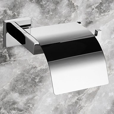 PIGE Toilettenpapierhalter, zeitgen ssische Edelstahl-Wand, BadZubehör