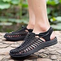 Xing Lin Flip Flop De La Playa Las Zapatillas De Playa Al Aire Libre _ Sandalias Artesanales Hombres Zapatos Agujero Exterior Antideslizante Baotou