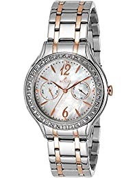 WESTAR Analog Mother of Pearl Dial Women's Watch - 0445STN111