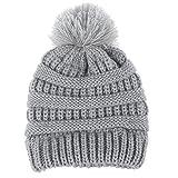 Recién nacido linda moda mantener calientes sombreros de invierno Sombrero  de dobladillo de lana de punto c0fa5ecab3b