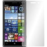 """2 x Slabo pellicola protettiva per display Nokia Lumia 830 protezione display (pellicole rimpicciolite, a causa della convessità del display) """"Crystal Clear"""" invisibile MADE IN GERMANY"""