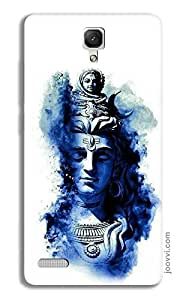 Lord Shiva Blue Case for Redmi Note 4G