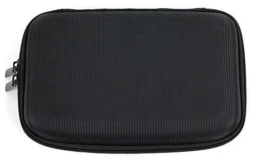 Hartschalen-Case als Schutz-Etui in Schwarz – von DuraGadget – für TECHNAXX Slim PowerBank TX-32 (Tragbarer Lade-Akku)