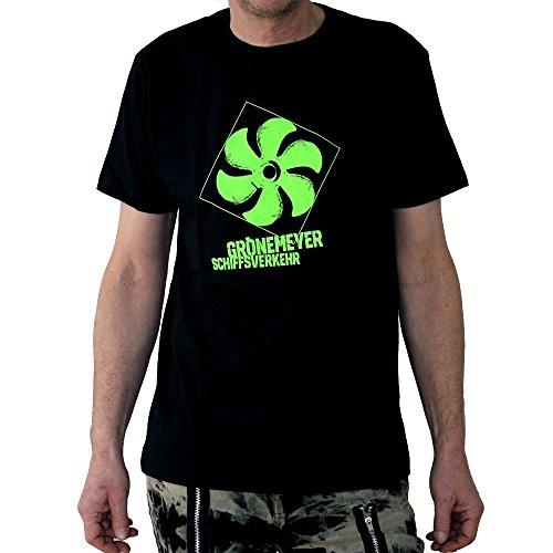 Herbert Grönemeyer Schiffsverkehr T-Shirt, schwarz, Grösse XL