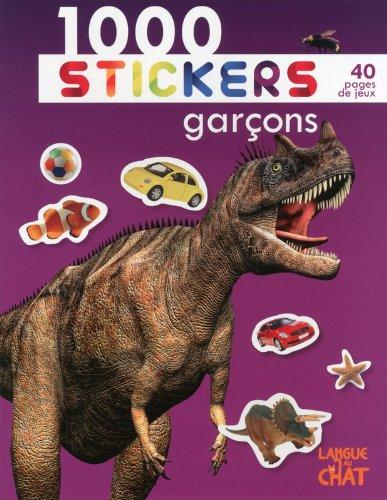 1000 stickers garçons