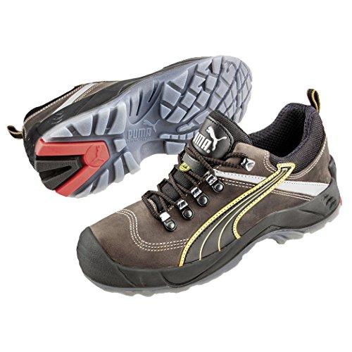 Puma Safety Shoes Condor Low S3 SRC, Puma 640541-204 Unisex-Erwachsene Espadrille Halbschuhe, Braun (braun/schwarz 204), EU 41 (Frauen Puma Flats)