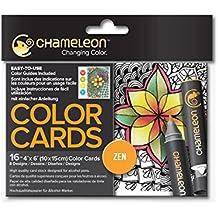 Camaleón Art productos, camaleón cartas de colores