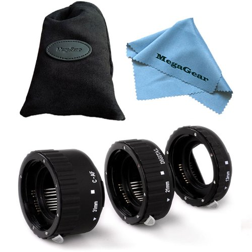 Slr-extension Tube (MegaGear Ultraleichte Auto Focus Macro Extension Tube Set für Canon DSLR SLR Canon EF EF-S Objektiv)