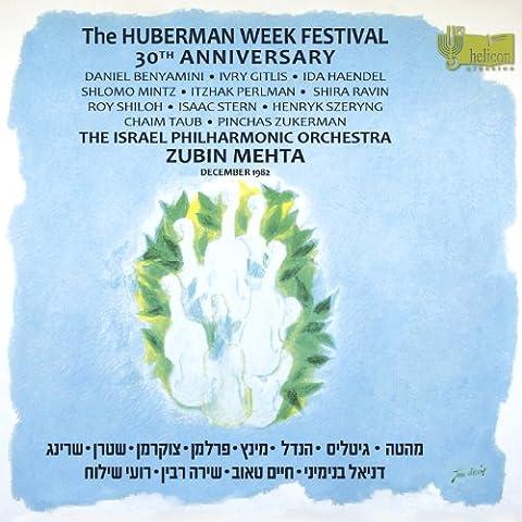 Ivry Gitlis - Huberman Week