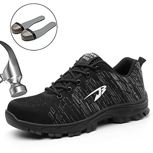 Suadex uomo donna scarpe da lavoro antinfortunistiche con punta in acciaio unisex-adulto