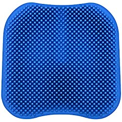 KKmoon Silikagel-Auto-Sitzkissen-Nicht Beleg-Stuhl-Auflage 16.5 Zoll für Büro-LKW-Hauptbreathable Silikon-Massage-Sitz-Abdeckung