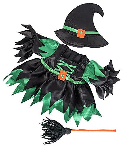 Stuffems Toy Shop Wicked Witch Kostüm Teddybär Kleidung Outfit paßt die meist 14