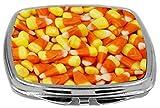 Rikki Knight Compact Mirror, Candy Corn Candy Orange Yellow, 3 Ounce Amazon