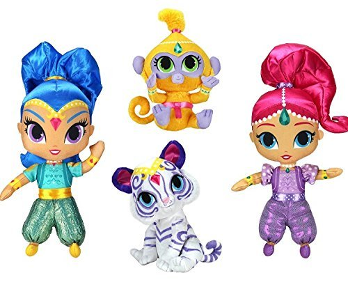 shimmer-and-shine-with-tala-and-nahal-6-inch-shimmer-plush-set-of-4-dolls-by-shimmer-and-shine