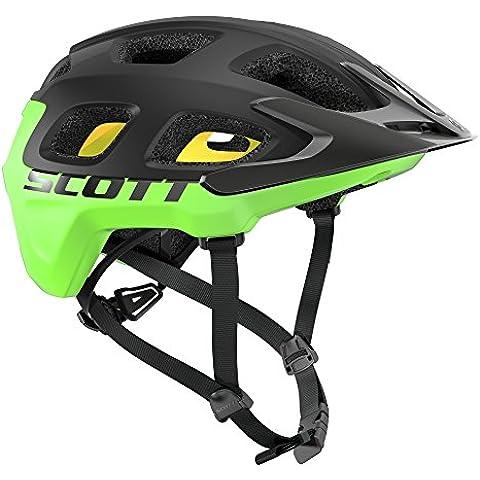 Scott Vivo Plus MTB Casco Para Bicicleta camuflaje negro 2016 - black/verde flash, M (55-59cm)