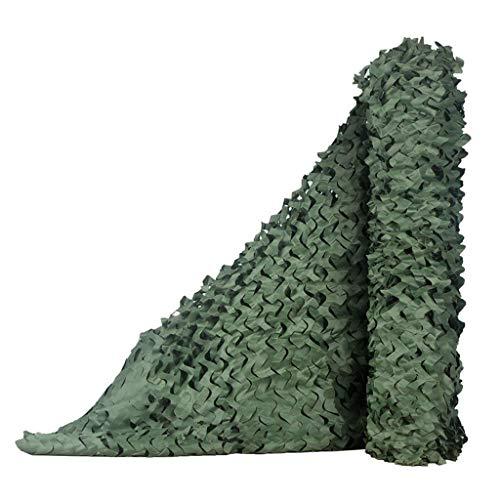 ZhHOME Sunshade Camouflage Net, Dense et Robuste, Ajouter Un réseau de Renfort, adapté pour Le Camping en Plein air Sun Shade et Garden Decoration (Plusieurs Tailles Disponibles, Vert Pur)