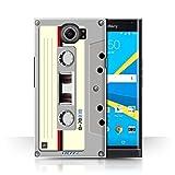 Stuff4 Hülle / Case für BlackBerry Priv / Kompaktkassette