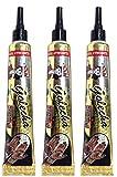 3x Herbal Tattoo Tubes Black by Golecha (75g)