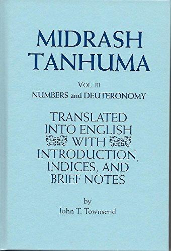Midrash Tanhuma: Numbers and Deuteronomy: 3