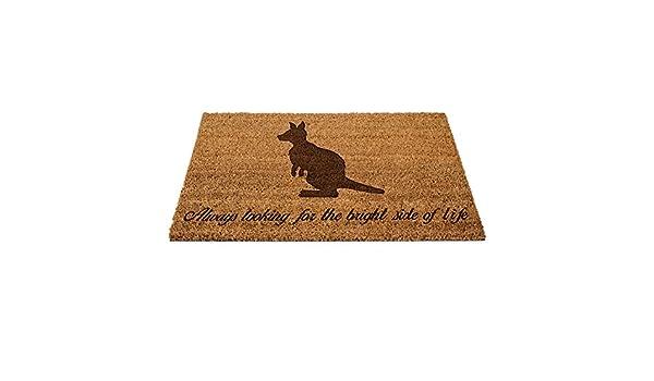 Känguru Australien Schmutzfangmatte Türmatte Fußmatte Schmutzmatte Fussabtreter