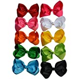Bzybel Boutique 7.5'' Big Large Hair Bow...