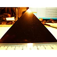 Schungit Pyramide,poliert, ca. 10x10 cm und 650g, aus Karelien,mit Zertifikat der Mine! preisvergleich bei billige-tabletten.eu